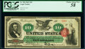 Fr. 95b $10 1863 Legal Tender PCGS Choice About New 58