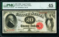 Fr. 147* $20 1880 Mule Legal Tender Star PMG Choice Extremely Fine 45