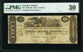 Obsoletes By State:Georgia, Darien, GA- Bank of Darien Georgia $50 Jan. 1, 1820 G44 PMG Very Fine 30.. ...