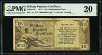 Series 481 $10 Second Printing Replacement PMG Very Fine 20