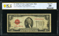 Small Size:Legal Tender Notes, Fr. 1505 $2 1928D Mule Legal Tender Note. PCGS Banknote Very Fine 20.. ...