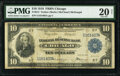 Fr. 814 $10 1918 Federal Reserve Bank Note PMG Very Fine 20 Net