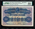 East Africa East African Currency Board 50 Florins = 5 Pounds 1.5.1920 Pick 12s Specimen PMG About Uncirculated 55