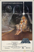 """Movie Posters:Science Fiction, Star Wars (20th Century Fox, 1977). Folded, Fine+. Third Printing One Sheet (27"""" X 41"""") Style A, Tom Jung Artwork. Science F..."""