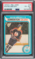 Hockey Cards:Singles (1970-Now), 1979 O-Pee-Chee Wayne Gretzky #18 PSA EX-MT+ 6.5. ...