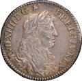 Colonials, 1670-A French Colonies 5 Sols AU50 NGC. Breen-256, W-11605, Martin 2-A....