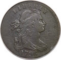 1796 1C Reverse of 1795, S-97, B-20, R.3 -- Corroded, Improperly Cleaned -- NCS. VF Details....(PCGS# 35825)