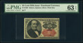 Fractional Currency:Fifth Issue, Fr. 1309 25¢ Fifth Issue PMG Choice Uncirculated 63 EPQ.. ...