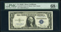 Small Size:Silver Certificates, Fr. 1613W $1 1935D Wide Silver Certificate. PMG Superb Gem Unc 68 EPQ.. ...