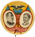 Political:Pinback Buttons (1896-present), Wilson & Marshall: A Superb Multi-Color Design by American Artworks of Coshocton, Ohio....
