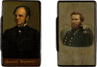 Grant & Seymour: A Striking Pair of Lidded Rectangular Snuff Boxes
