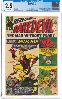 Daredevil #1 (Marvel, 1964) CGC GD+ 2.5 Off-white pages