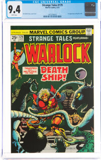 Strange Tales #179 (Marvel, 1975) CGC NM 9.4 White pages