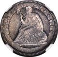 (Circa 1840) Seated Quarter Die Trial, Judd-A1840-7, Unique, MS64 NGC....(PCGS# 62419)