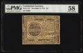 Continental Currency November 2, 1776 $7 PMG Choice About Unc 58