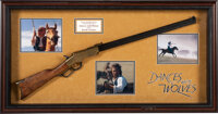 Dances With Wolves Kevin Costner Screen Used Rifle (1990)