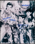 """Movie Posters:Science Fiction, Lost in Space (2004). Very Fine. Autographed Reproduction Photo (11"""" X 14""""). Science Fiction.. ..."""
