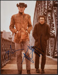 """Movie Posters:Academy Award Winners, Midnight Cowboy (1970s). Very Fine. Signed Color Photo (11"""" X 14""""). Academy Award Winners.. ..."""