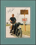 "Movie Posters:War, Steve McQueen in The Great Escape (United Artists, 1963). Very Fine+. Signed and Matted Photo (11"" X 14""). War.. ..."