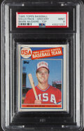 Baseball Cards:Singles (1970-Now), 1985 Topps Baseball Cello Pack With Mark McGwire On Top, PSA Mint 9....