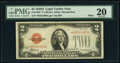 Fr. 1505* $2 1928D Mule Legal Tender Star Note. PMG Very Fine 20