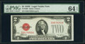 Fr. 1506 $2 1928E Legal Tender Note. PMG Choice Uncirculated 64 EPQ