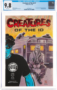 Creatures of the Id #1 (Caliber Press, 1990) CGC NM/MT 9.8 White pages