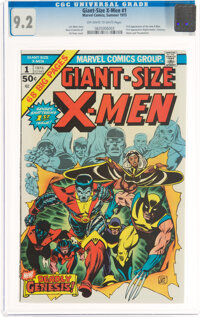 Giant-Size X-Men #1 (Marvel, 1975) CGC NM- 9.2 Off-white to white pages