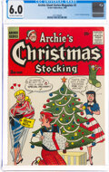 Silver Age (1956-1969):Humor, Archie Giant Series Magazine #3 Archie's Christmas Stocking (Archie, 1956) CGC FN 6.0 Off-white to white pages....