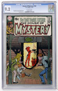 Bronze Age (1970-1979):Horror, House of Mystery #184 (DC, 1970) CGC NM- 9.2 Off-white pages....