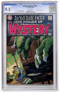 Silver Age (1956-1969):Horror, House of Mystery #180 (DC, 1969) CGC NM- 9.2 Off-white pages....