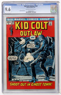 Bronze Age (1970-1979):Western, Kid Colt Outlaw #159 (Marvel, 1972) CGC NM+ 9.6 Off-white to white pages....