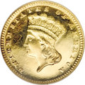 Proof Gold Dollars, 1886 G$1 PR65 ★ Ultra Cameo NGC....