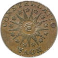 Colonials, 1785 COPPER Nova Constellatio Copper, Pointed Rays MS64 Brown PCGS....