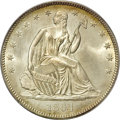 Seated Half Dollars, 1864 50C MS67 PCGS....