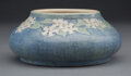 Ceramics & Porcelain, Newcomb College Matte Glazed Pottery Bowl Decorated by Anna Francis Simpson, circa 1900. Marks: NC, AFS 065, 37,...