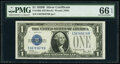 Small Size:Silver Certificates, Fr. 1602 $1 1928B Silver Certificate. PMG Gem Uncirculated 66 EPQ.. ...