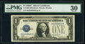Small Size:Silver Certificates, Fr. 1603 $1 1928C Silver Certificate. PMG Very Fine 30.. ...