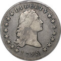 Early Dollars, 1795 $1 Flowing Hair, Two Leaves, B-1, BB-21, R.2, VF30 PCGS....