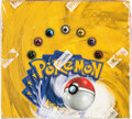 Memorabilia:Trading Cards, Pokémon Unlimited Edition Base Set Sealed Booster Box (Wizards of the Coast, 1999)....