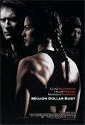 """Movie Posters:Sports, Million Dollar Baby (Warner Bros., 2004). Rolled, Very Fine-. One Sheet (27"""" X 40"""") DS Advance. Sports.. ..."""