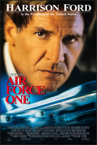 "Air Force One (Sony, 1997). Rolled, Very Fine-. International One Sheet (26.75"" X 39.75"") DS. Action"