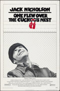 """Movie Posters:Academy Award Winners, One Flew Over the Cuckoo's Nest (United Artists, 1975). Folded, Fine. One Sheet (27"""" X 41""""). Academy Award Winners.. ..."""