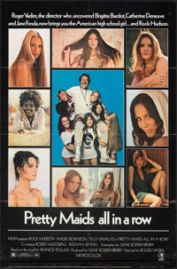"Pretty Maids All in a Row (MGM, 1971). Folded, Overall Grade: Fine/Very Fine. One Sheet (27"" X 41"") Cut Pressb..."