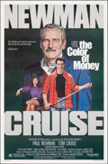 "Movie Posters:Drama, The Color of Money (Buena Vista, 1986). Rolled, Very Fine-. One Sheet (27"" X 41"") SS, Robert Tanenbaum Artwork. Drama.. ..."
