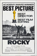 """Movie Posters:Academy Award Winners, Rocky & Other Lot (United Artists, 1977). Folded, Overall: Very Fine-. One Sheets (2) (27"""" X 41"""") Academy Awards Style B. . ... (Total: 2 Items)"""