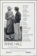 """Movie Posters:Comedy, Annie Hall (United Artists, 1977). Folded, Very Fine-. One Sheet (27"""" X 41"""") & Production Notes (10 Pages, 8.5"""" X 11""""). Come... (Total: 2 Items)"""