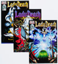 Modern Age (1980-Present):Alternative/Underground, Lady Death/Lync Mob Comics Box Lot (Chaos! Comics, 1990s) Condition: Average NM-....