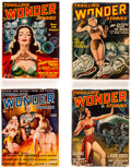 Pulps:Science Fiction, Thrilling Wonder Stories Group of 21 (Standard, 1948-54) Condition: Average VG.... (Total: 21 Items)