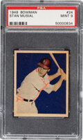 Baseball Cards:Singles (1940-1949), 1949 Bowman Stan Musial #24 PSA Mint 9 - None Higher. ...